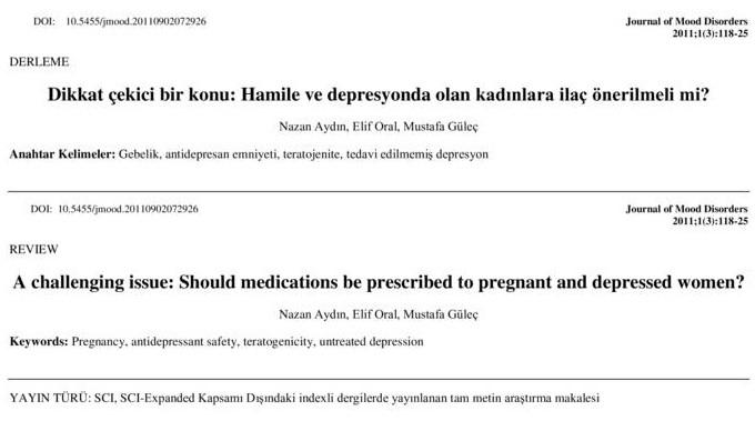 Dikkat çekici bir konu: Hamile ve depresyonda olan kadınlara ilaç önerilmeli mi?