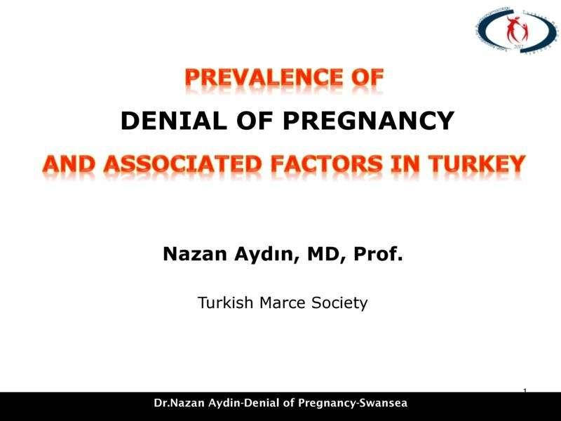 Türkiye'de Gebelik İnkarının Yaygınlığı ve İlişkili Faktörler