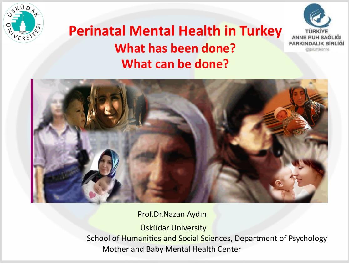 Türkiyede Perinatal Ruh Sağlığı - 55.Ulusal Psikiyatri Kongresi, 23 Ekim 2019